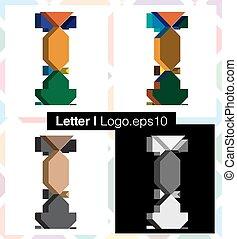 font, lettera, 3d