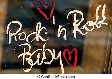 font rock'n roll baby - font rock'n'roll baby, a symbol for...