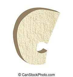 Font Type Rock C