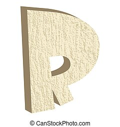 Font Type Rock R