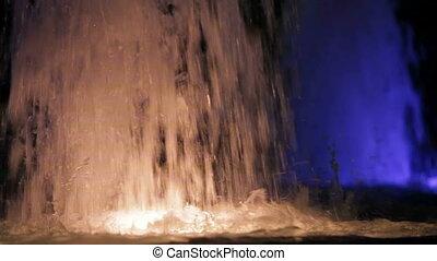 fontaine, coloré