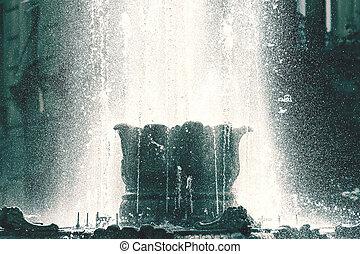 fontaine eau, public