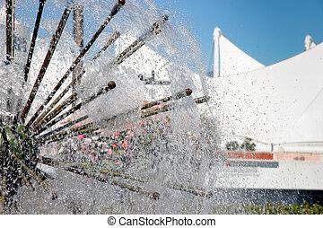 fontaine eau, vancouver, caractéristique