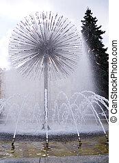 fontaine, kiev, pissenlit