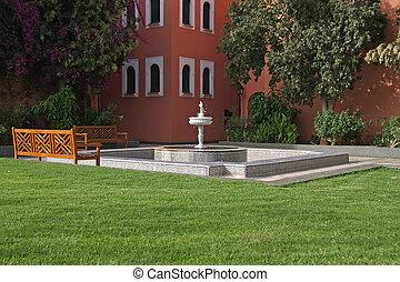 fontaine, marocain