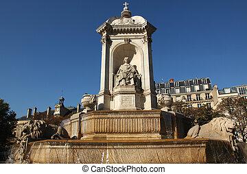Fontaine Saint Sulpice Paris