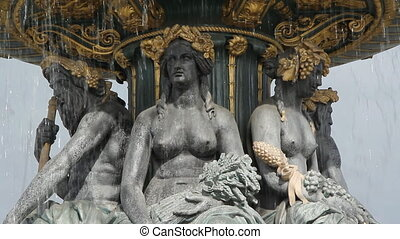 Fontaines de la Concord.