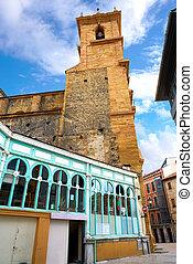 Fontan market in Oviedo Asturias Spain