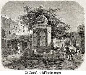 fontana, arabo
