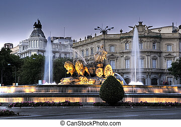 fontana, cibeles