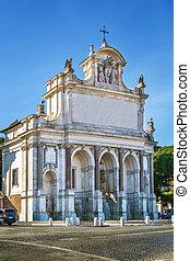 Fontana dell'Acqua Paola, Rome, Italy - The Fontana dell'...