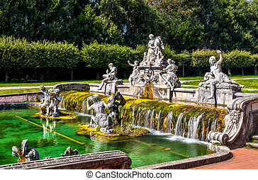 Fontana di Cerere at the Royal Palace of Caserta