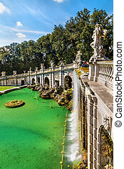 Fontana di Eolo at the Royal Palace of Caserta