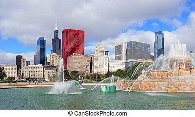 fontanna, buckingham, chicago
