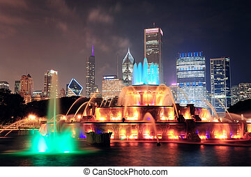 fontanna buckinghama, chicago