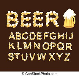 fonte, beer., draught, beer.