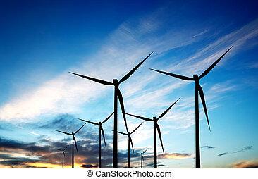 fonte, energia, renovável