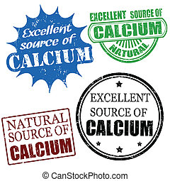 fonte excelente cálcio, selos