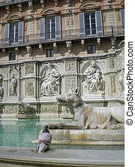 Fonte Gaia (Fountain of Joy)