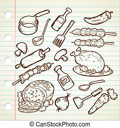 FOOD AND COOKWARE