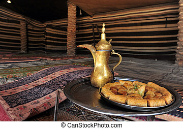 Food and Cuisine - Restaurant - Bedouin hospitality.