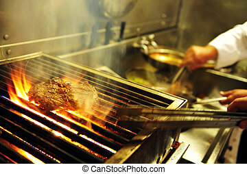 Food and Cuisine - Restaurant - Prepared food on a table in ...