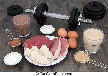 Food and Drink for Body Builders