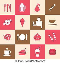 drink icon food vector