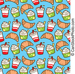 food and drink wrapping paper pater