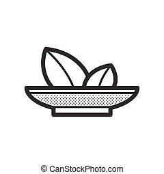 food and herbs icon