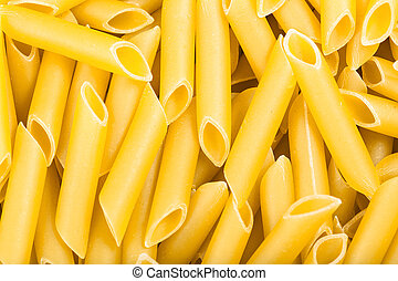 durum wheat semolina pasta penne lisce