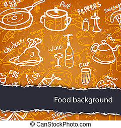 Food background