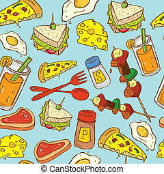 food background pattern