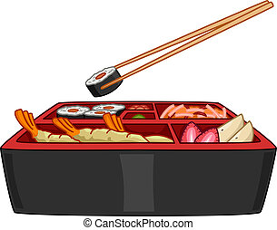 Bento Illustrations And Clip Art 696 Bento Royalty Free