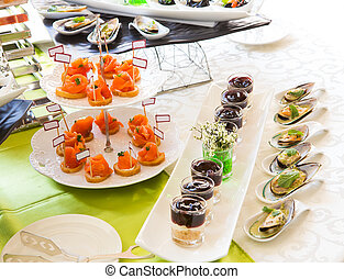 Food Buffet Catering Dining Eating Party