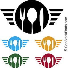 Food business logo - ideal logo for catering or any food ...