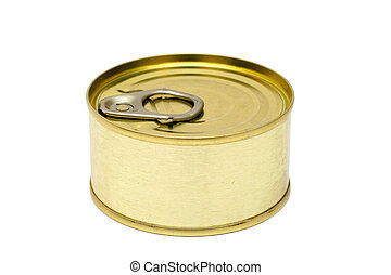Food Can - Food can on white background