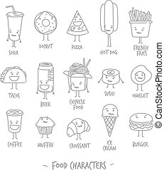 Food characters