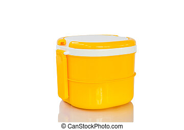 Food Container yellow