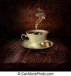 Food design - Black coffee