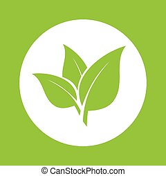 Food design. - Food design over green background, vector...