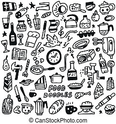 Food - doodles