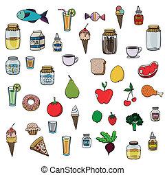 food drawing
