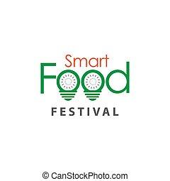 Food Festival Logo Vector Template Design Illustration