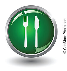 Food Glow Button