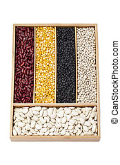 food grains in box