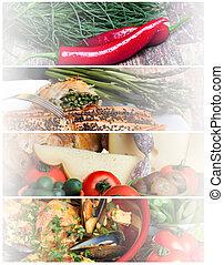 Food Headers Collage