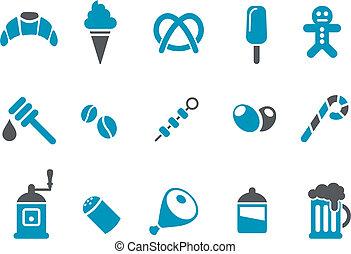 Food icon set
