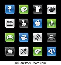 Food Icons 1 -- Gelbox Series