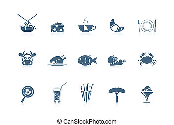Food icons 1. Piccolo series